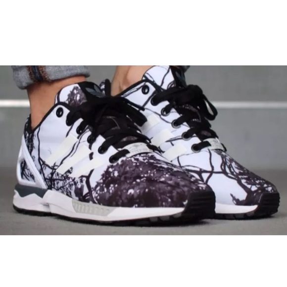 new arrival 77c0d b611c Adidas ZX Flux Tree Branch Men's 8.5 Women's 10 NWT